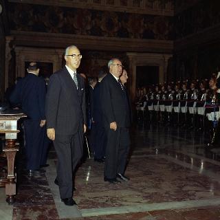 Insediamento del Presidente Giuseppe Saragat, 29 Dicembre 1964